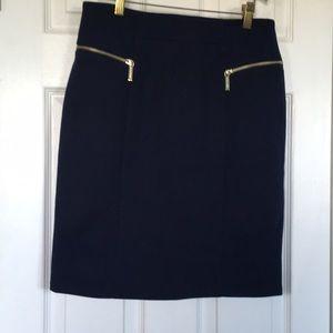 NWOT Michael Michael Kors blue pencil skirt
